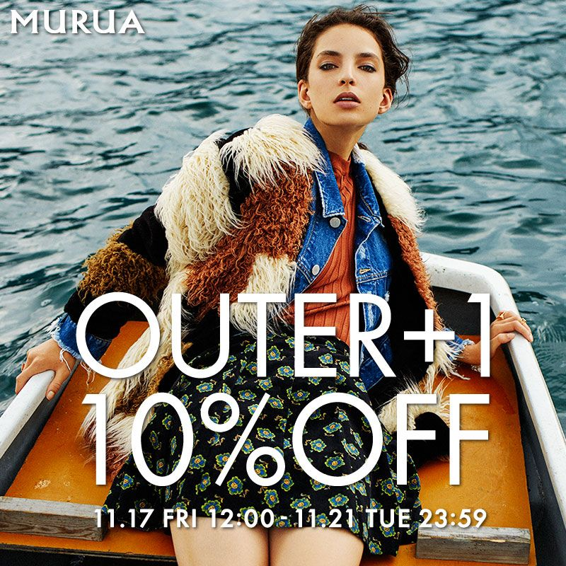 OUTER+1=10%OFF