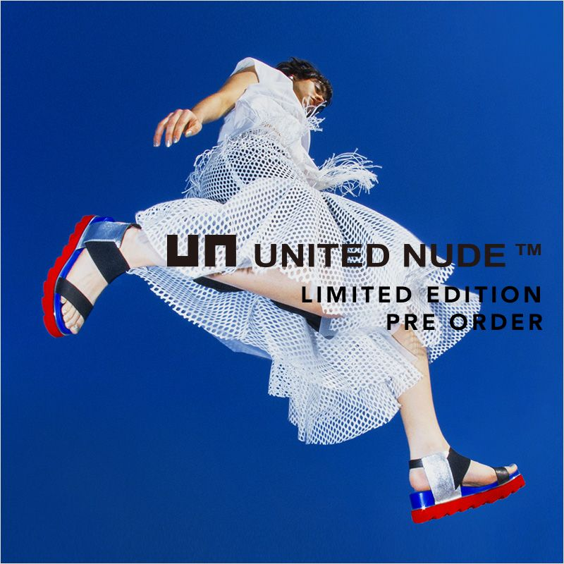 UNITED NUDE UN3D. LIMITED EDITION PRE ORDER