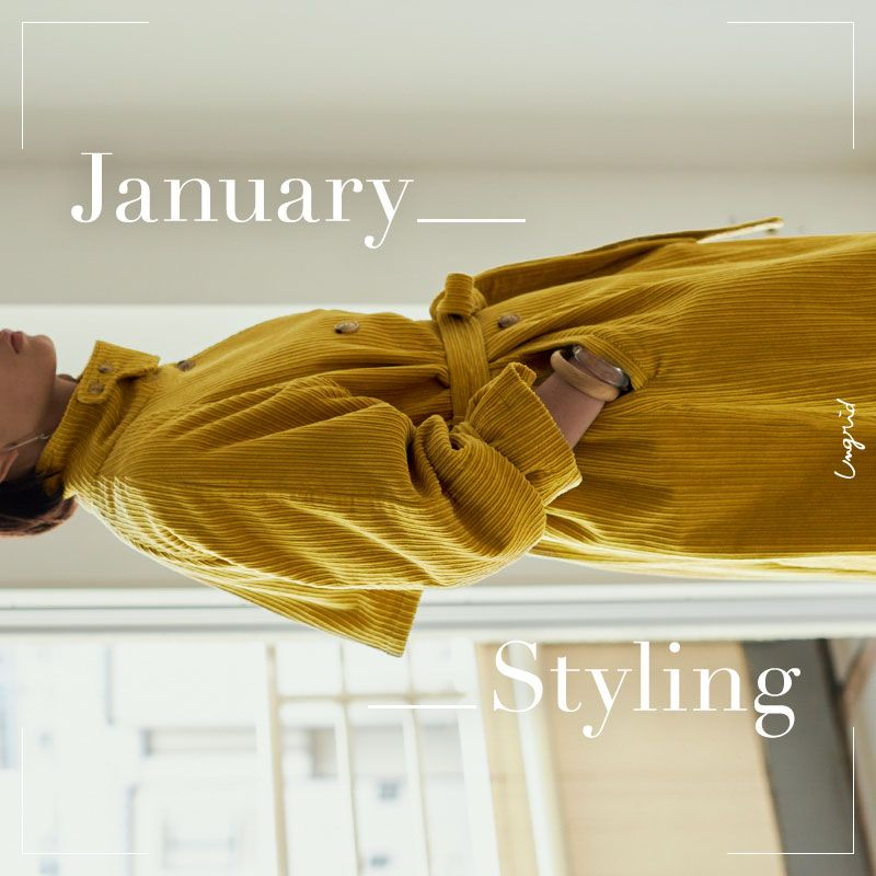 JANUARY STYLING